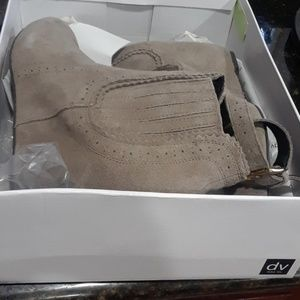 Dolce Vita Taupe Suede shoes